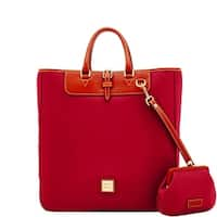Dooney & Bourke Wexford Leather Editor's Tote & Large Frame Purse (Introduced by Dooney & Bourke at $368 in Sep 2017)
