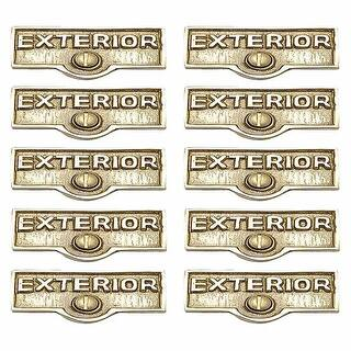 10 Switch Plate Tags EXTERIOR Name Signs Labels Brass Renovator's Supply|https://ak1.ostkcdn.com/images/products/is/images/direct/79b7a7595ed4340928612a1b3c7562daf7ba73b6/10-Switch-Plate-Tags-EXTERIOR-Name-Signs-Labels-Brass-%7C-Renovator%27s-Supply.jpg?impolicy=medium