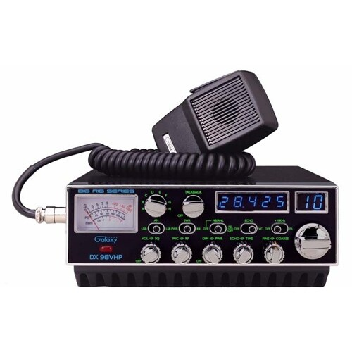 """Galaxy DX-98VHP 10 Meter Radio"""