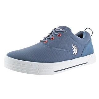 U.S. Polo Skip Men's Ballistic Nylon Casual Boat Shoes Sneakers