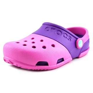 Crocs Electro II Clog Youth Round Toe Synthetic Pink Clogs