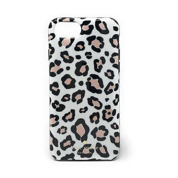 size 40 7c79d a6708 Shop Kate Spade New York Leopard Print Protective Rubber Case For ...