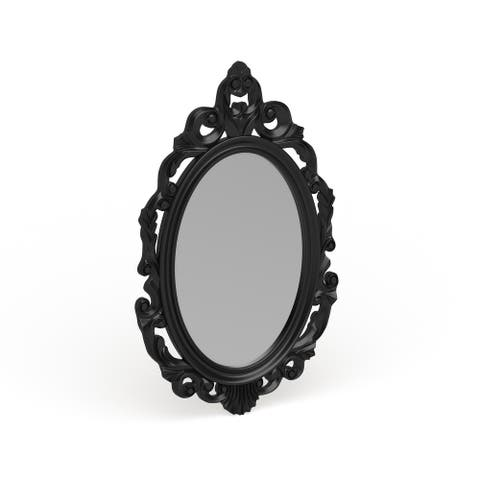 The Curated Nomad Hokona Black Baroque Mirror