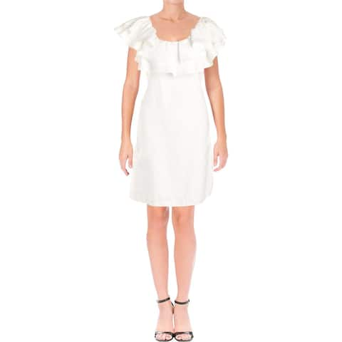 Julie Brown Womens Selina Special Occasion Dress Party Off-The-Shoulder