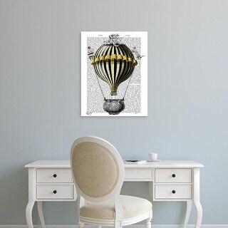 Easy Art Prints Fab Funky's 'Baroque Fantasy Balloon 2' Premium Canvas Art