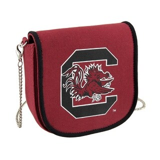 University of South Carolina USC Gamecocks Canvas Clutch Purse - Red