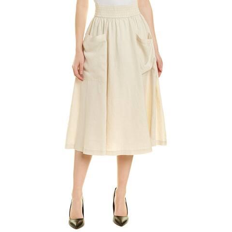 Donna Karan New York Linen Skirt