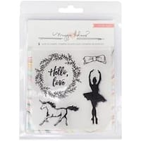 Gather-Gather Acrylic Stamps 5/Pkg