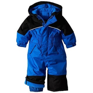 iXtreme Baby / Toddler Boys Snowmobile One Piece Winter Solid Snowsuit (Option: 12 Months)