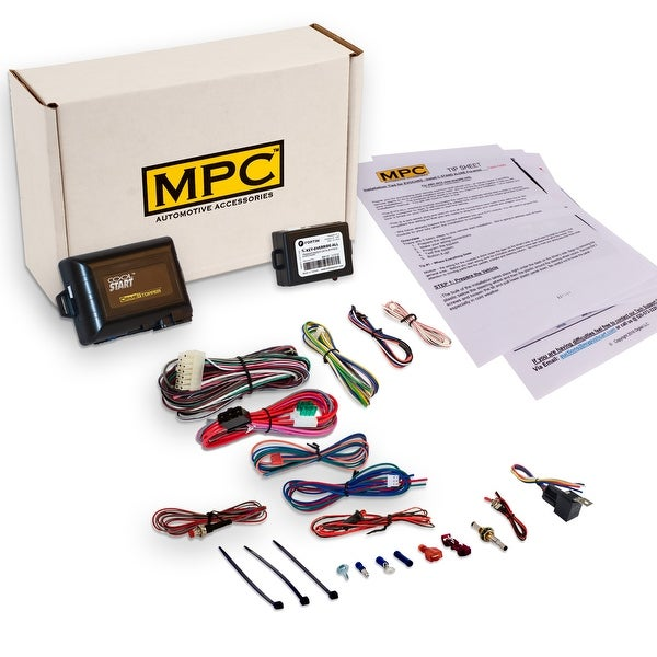 Complete Add-On Remote Start Kit For 2006-2008 Lexus RX 400H - Includes on