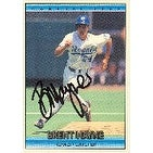 Brent Mayne Kansas City Royals 1992 Donruss Autographed Card This item comes with a certificate of