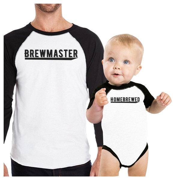 Brewmaster Homebrewed Funny Baby Shower Gift T-Shirts For New Dads