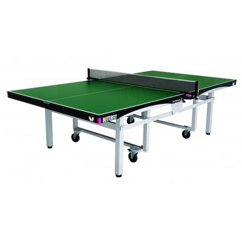 Butterfly Centrefold 25 Professional Green Table Tennis Table