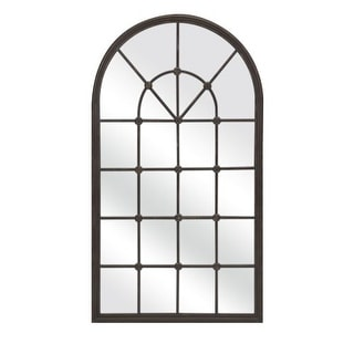"IMAX Home 18310 Barnett 28.5"" x 50"" Arched Mirror"