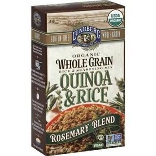Lundberg Family Farms - Rosemary Quinoa & Rice Blend ( 6 - 6 oz bags)