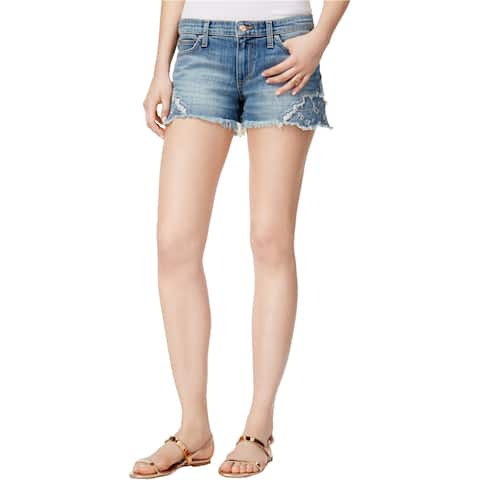 Joe's Womens The Cutoff Patched Casual Denim Shorts - 32