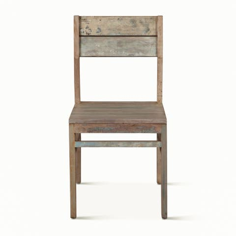 Cordoba Reclaimed Teak Dining Chairs, Set of 2