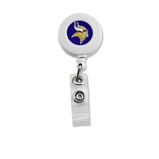 Minnesota Vikings Retractable Badge Reel Id Ticket Clip NFL