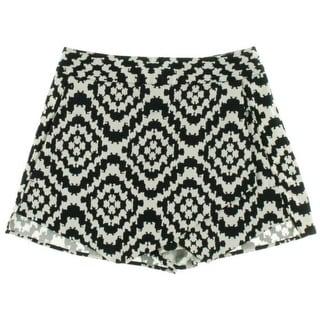Aqua Womens Printed Tiered Dress Shorts - M