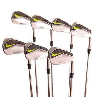 New Nike Vapor Pro Blade Iron Set 3-9 (No PW) AMT S300 Stiff Flex Steel RH