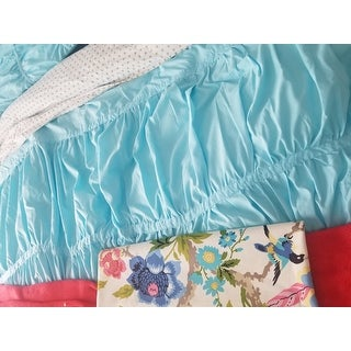 Mi Zone Cristy Aqua Comforter Set