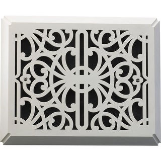 """Quorum International 7-113 7"""" x 8.5"""" Traditional Flush Mount Door Chime Grill Cover"""