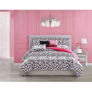 Link to Juicy Couture Hyper Leopard 6-Piece Reversible Set, Full/Queen Similar Items in Comforter Sets