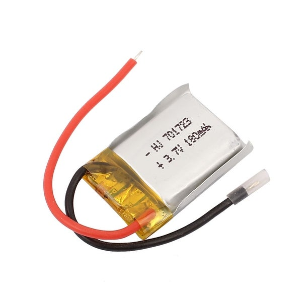 DC 3.7V 180mAh Rechargable Lithium Li-ion Battery for Aerial Photography