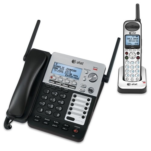 At&T - At&T Synj 4 Line Corded Cordless System