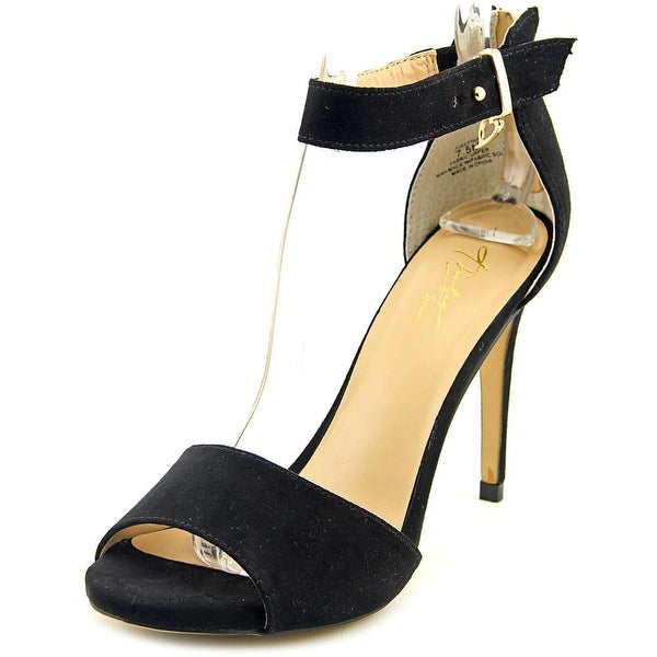 Thalia Sodi Jose Peep-Toe Canvas Heels