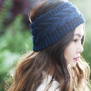 Zoadaca Women Winter Warm Knit Crochet Headband for Ski/ Snowboarding