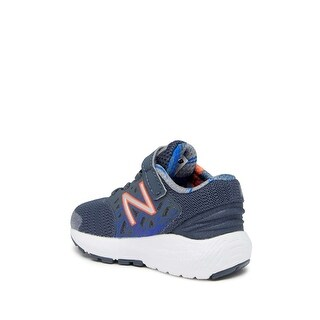 New Balance Baby Boy KVURGGMI Fabric, Grey/Multicolor, Size 2.0 Wide Baby Boy