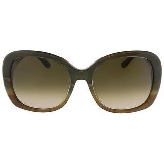 Salvatore Ferragamo Womens Oversized Gradient Oval Sunglasses - o/s