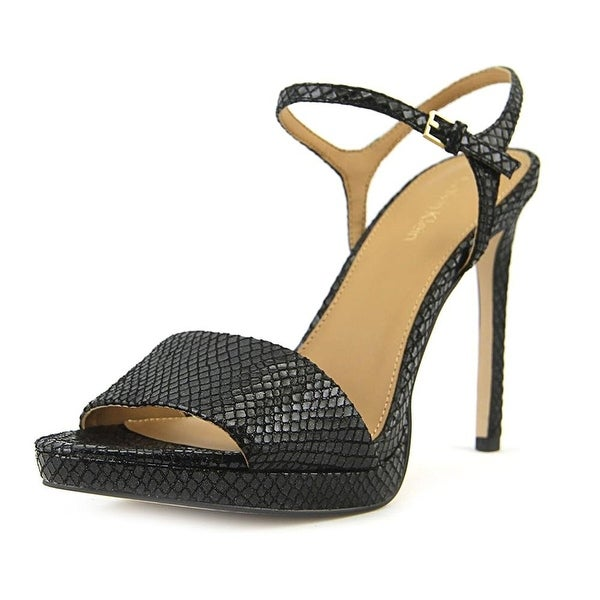 Calvin Klein Womens Surie Open Toe Casual Slingback Sandals