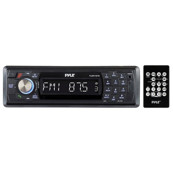 Pyle Marine Receiver AM/FM/USB/Bluetooth Black Mechless