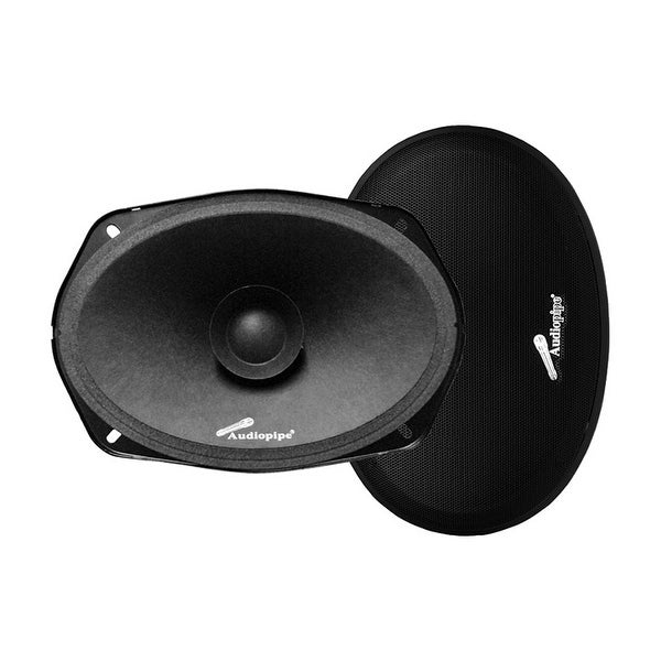 """Audiopipe 6x9"""" Dual Cone Low Mid Frequency Loudspeaker(Sold in pairs) 250W Max"""