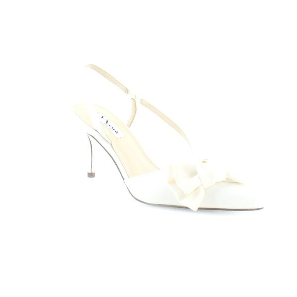 Nina Teddi Women's Heels Ivory Luster - 8