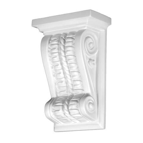 Victorian Wall Fireplace Corbel White Urethane Vintage Renovator's Supply