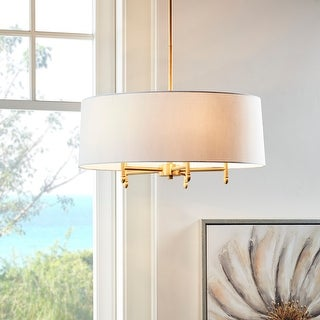 Link to Presidio 5-Light Drum Chandelier by Hampton Hill Similar Items in Chandeliers