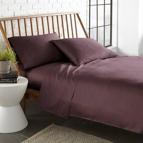 Ultra Soft Sateen Cotton 800 Thread Count 4-Piece Bed Sheet Set