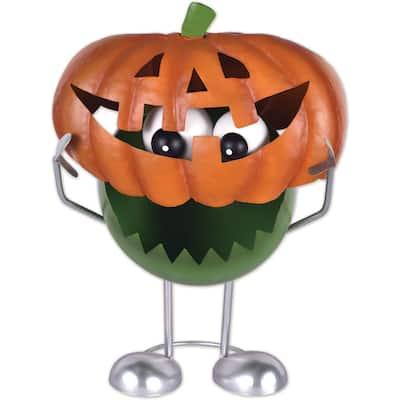 Pumpkin Monster Porch Sitter