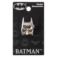DC Comics Pewter Lapel Pin Batman Mask - multi
