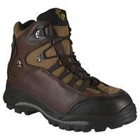 Golden Retriever Footwear Men's 7533 Brown Tumbled Waterproof Leather