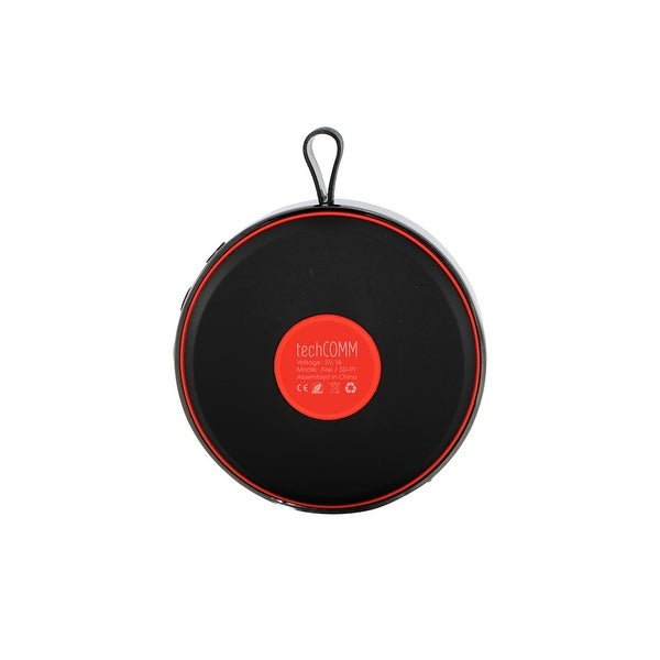TechComm Curve Mini Wireless Portable Round Bluetooth Hi-Fi Speaker
