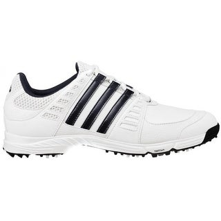 Adidas Juniors Tech Response 3.0 White/Dark Steel Metallic Golf Shoes 675369