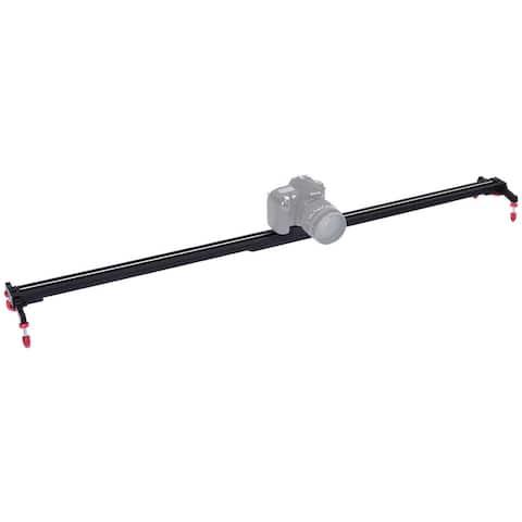 Costway 40'' Camera Video Slider Track Stabilizer Rail Ball-Bearing