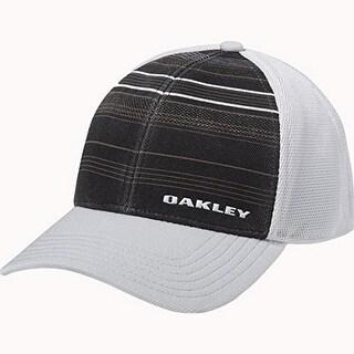 Oakley Mens Silicone Bark Trucker Print 2.0