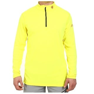 Ariat NEW Neon Yellow Mens Size 3XL 1/2 Zip Pullover Sweater