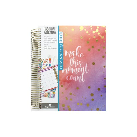 Paper House Life Org Planner 18 Month Moment Count - Medium