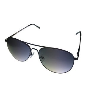 Kenneth Cole Reaction Mens Sunglass KC1268 8B Gunmetal Metal Aviator Smoke Lens - Medium